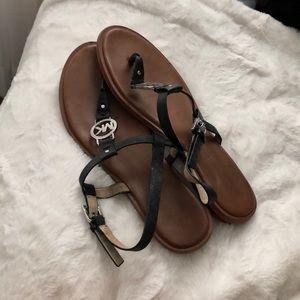 Black Micheal Kors Sandals